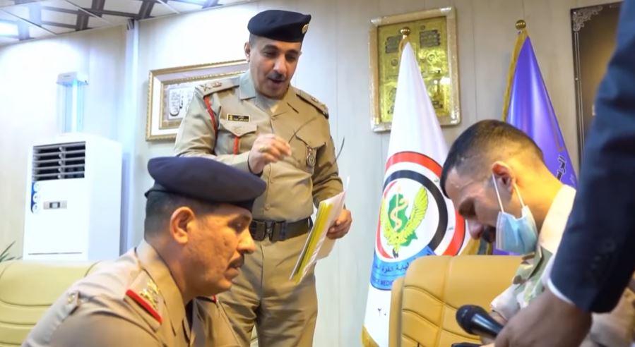مؤلم جداُ   ( أبن الجيش العراقي مايبجي )