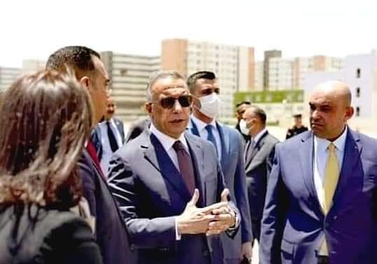 ابرز ما تحدث الرئيس الكاظمي به خلال زيارته مدينة بسماية